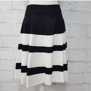 Amanda and Chelsea Black and White skirt